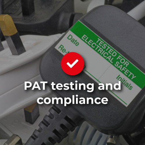 PAT testing and compliance